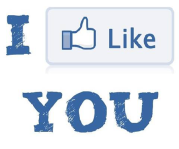 Facebook %22I like you%22 icon
